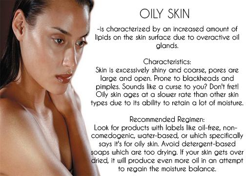 google image: oily skin