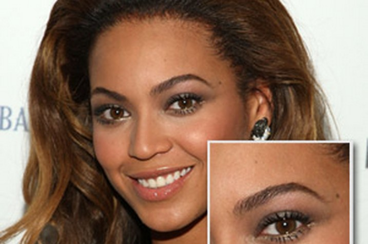 Beyonce Brows - Well Groomed and perfectly precise. They frame her face beautifully