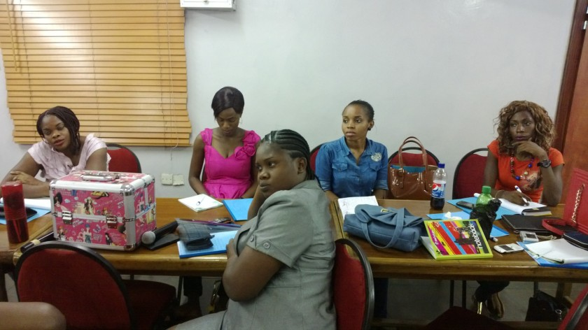 Cross section of the class