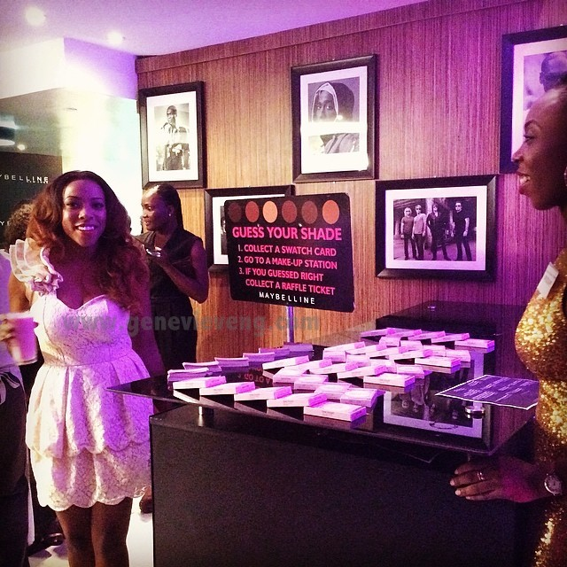 The Maybelline New York 'Find Your Shade' Event