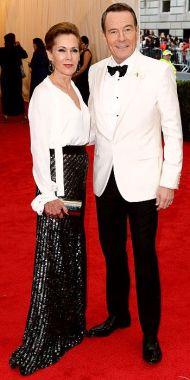 Bryan Cranston in Oscar de la Renta