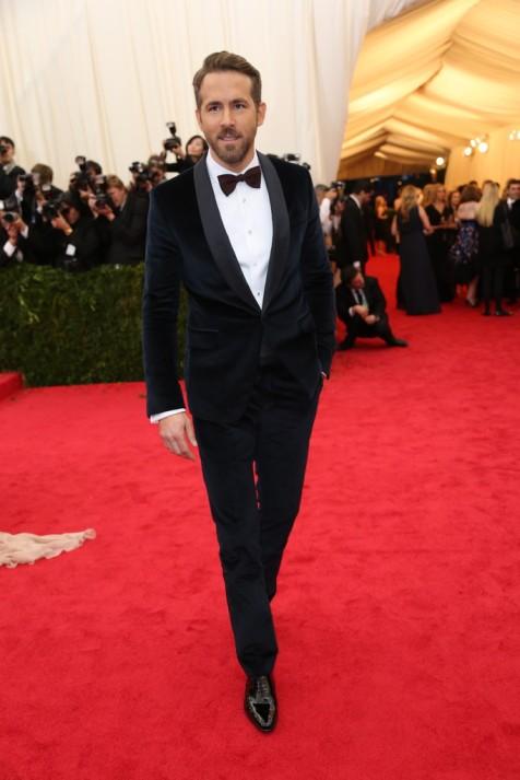 Ryan Reynolds in Gucci.