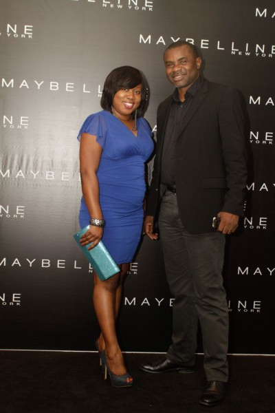 Thomas Isibor (Sales Director L'Oreal Central West Africa) & Hilda Curkson (Supply Chain Manager L'Oreal West Africa)