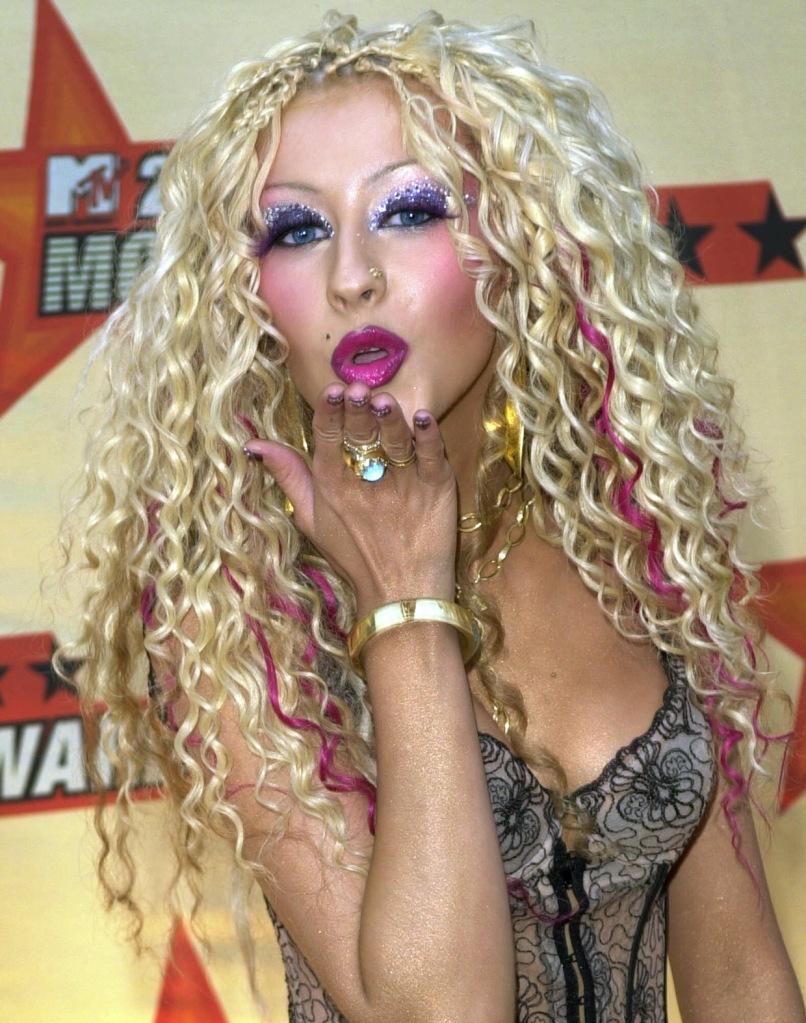Christina Aquilara Too Much Makeup
