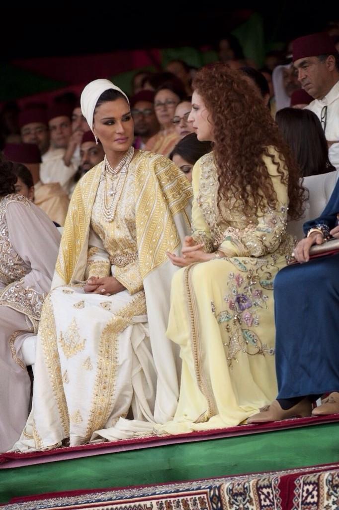 Sheika Mozah Fashion