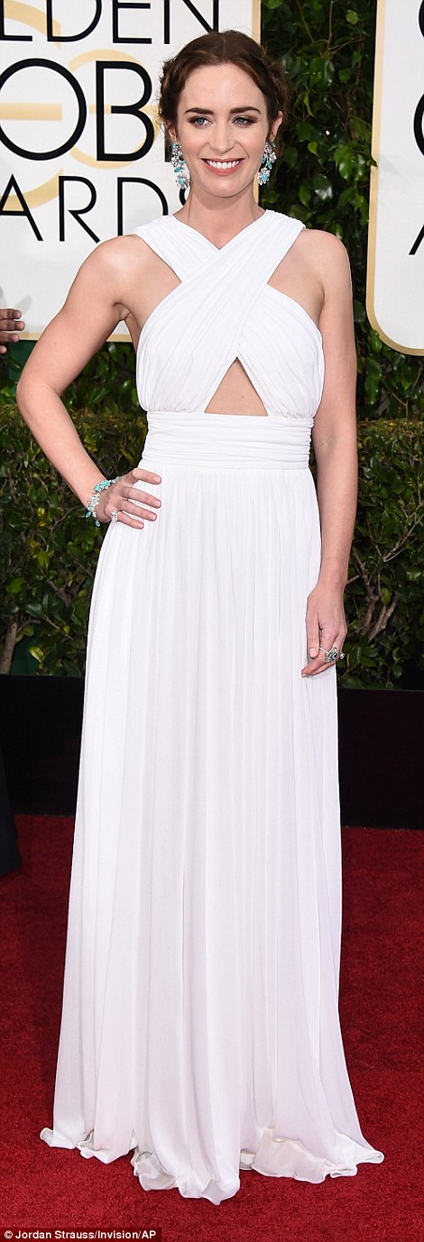 Emily Blunt In Micheal Kors