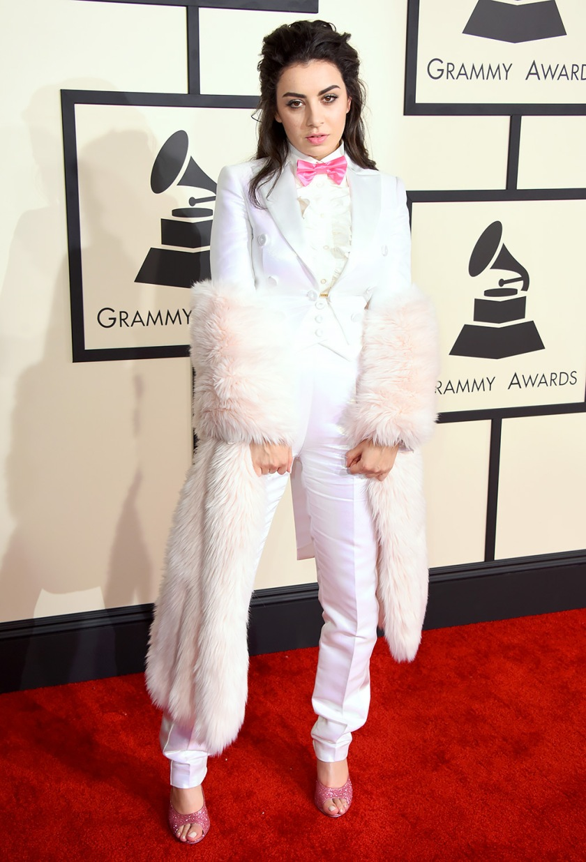 Charlie XCX at the Grammys 2015