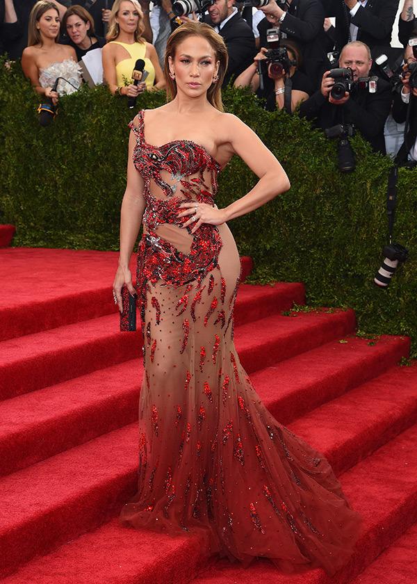 JLO in Donatella Versace