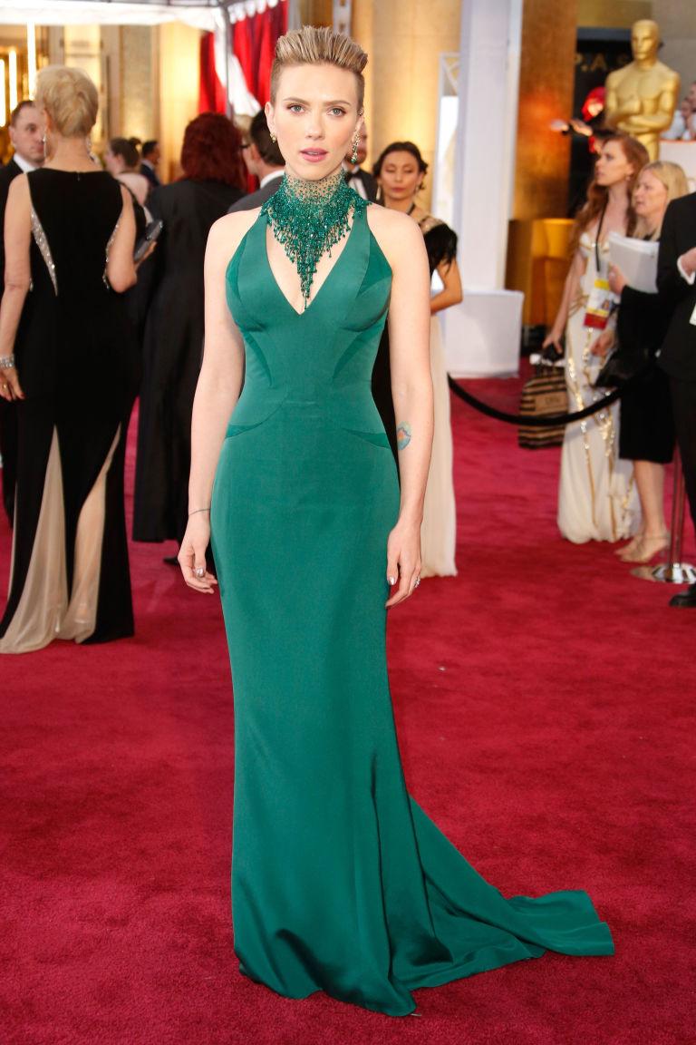 Scarlett Johansson in Alberta Ferreti